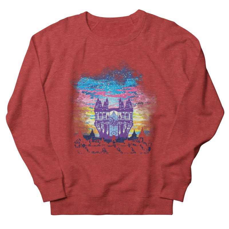 Daybreak Town Men's French Terry Sweatshirt by Daletheskater
