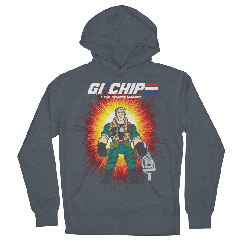 G.I Chip Women's French Terry Pullover Hoody by Daletheskater