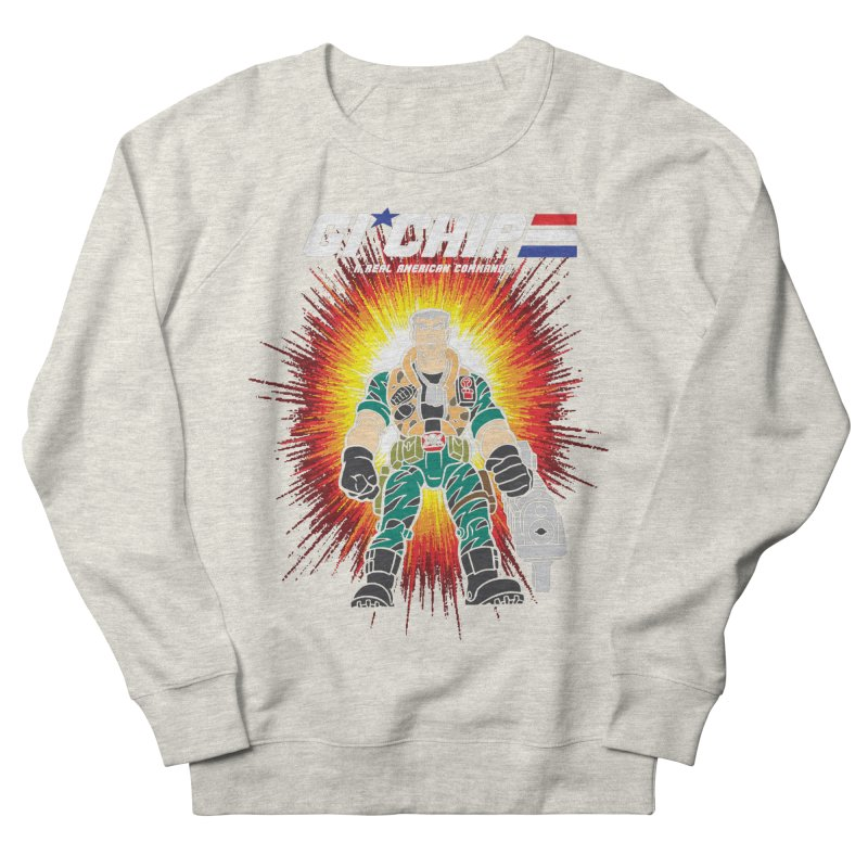 G.I Chip Men's French Terry Sweatshirt by Daletheskater