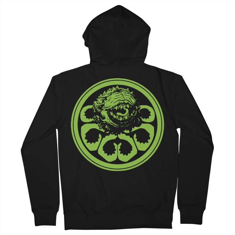Hail Audrey II Men's French Terry Zip-Up Hoody by Daletheskater