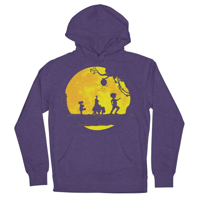 Friendly Moonwalk Women's French Terry Pullover Hoody by Daletheskater
