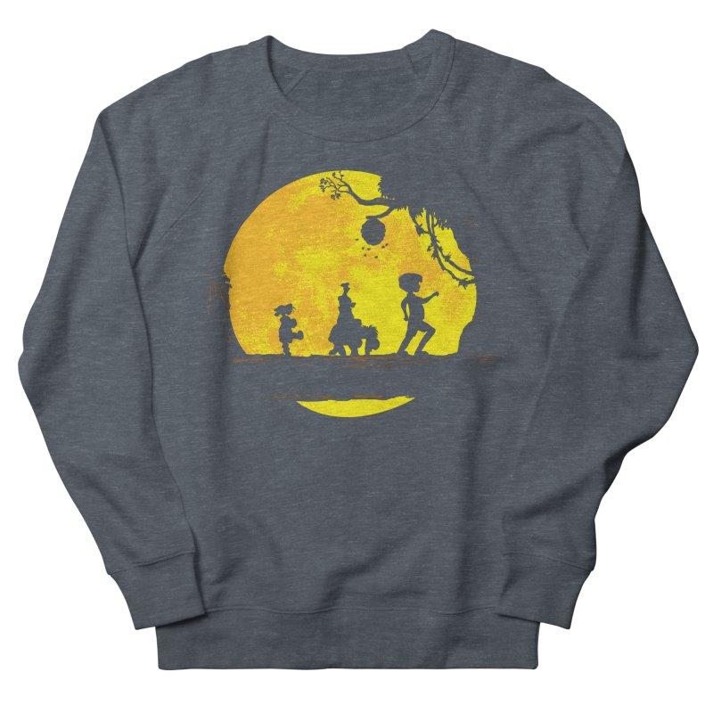 Friendly Moonwalk Women's French Terry Sweatshirt by Daletheskater
