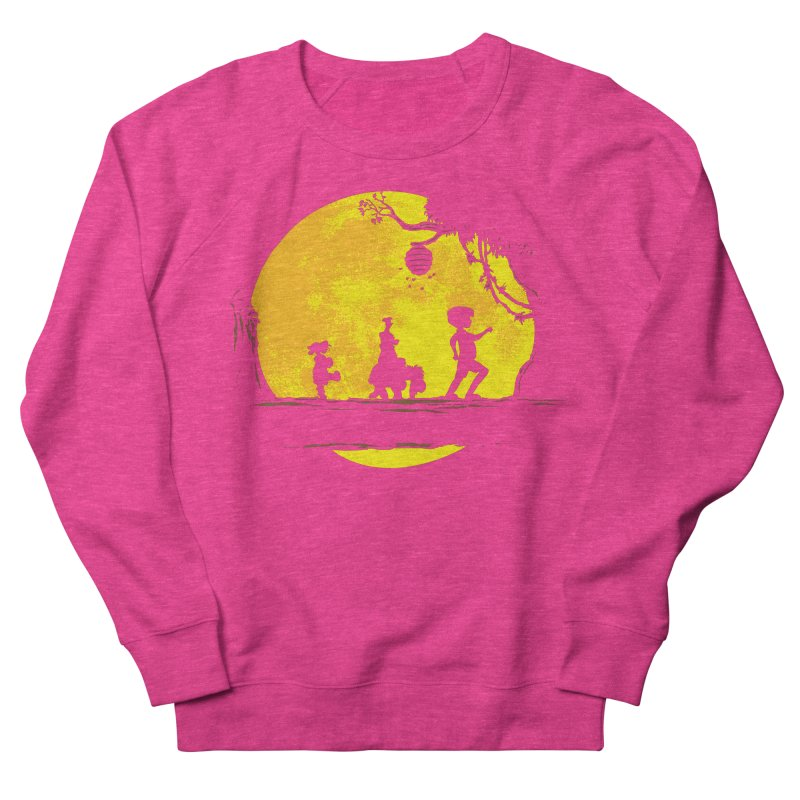 Friendly Moonwalk Men's French Terry Sweatshirt by Daletheskater