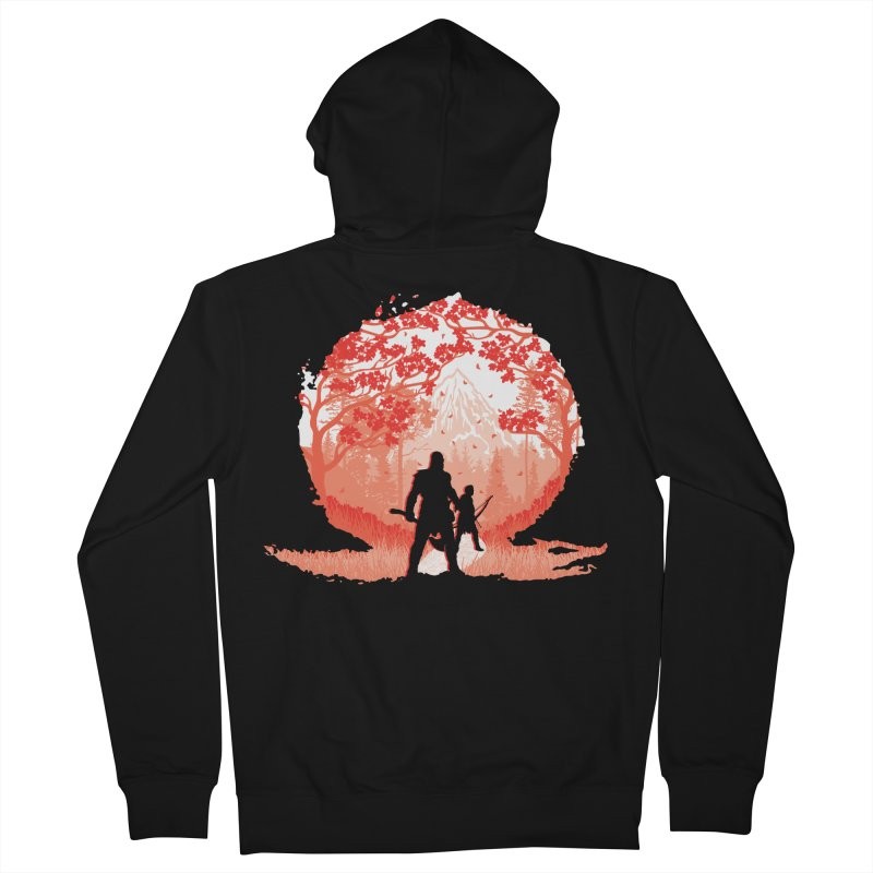 Dangerous World Men's French Terry Zip-Up Hoody by Daletheskater