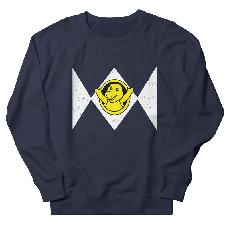 Barney Saurus Women's French Terry Sweatshirt by Daletheskater