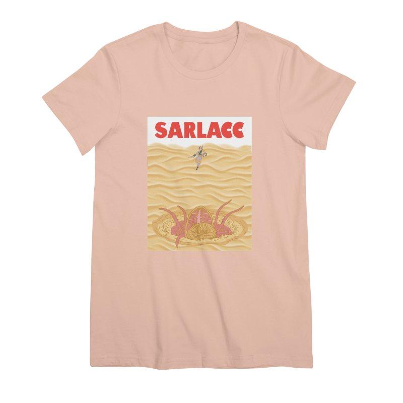 Sarlacc Women's Premium T-Shirt by Daletheskater