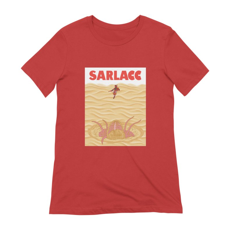 Sarlacc Women's Extra Soft T-Shirt by Daletheskater