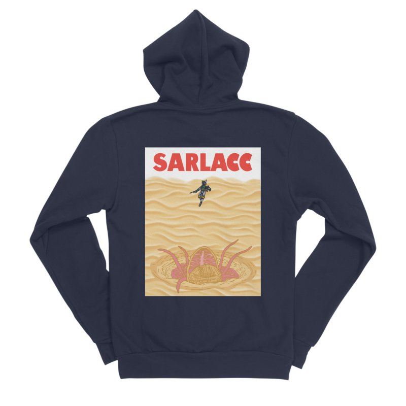 Sarlacc Women's Sponge Fleece Zip-Up Hoody by Daletheskater