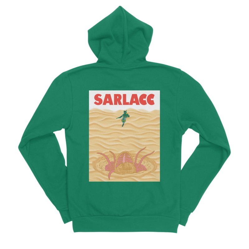 Sarlacc Men's Sponge Fleece Zip-Up Hoody by Daletheskater