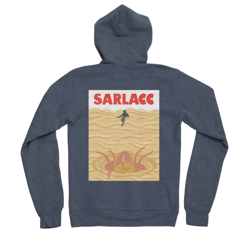 Sarlacc Women's Sponge Fleece Zip-Up Hoody by Daletheskater
