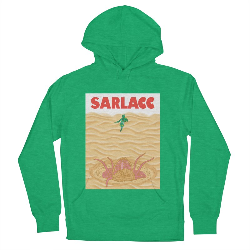 Sarlacc Women's French Terry Pullover Hoody by Daletheskater