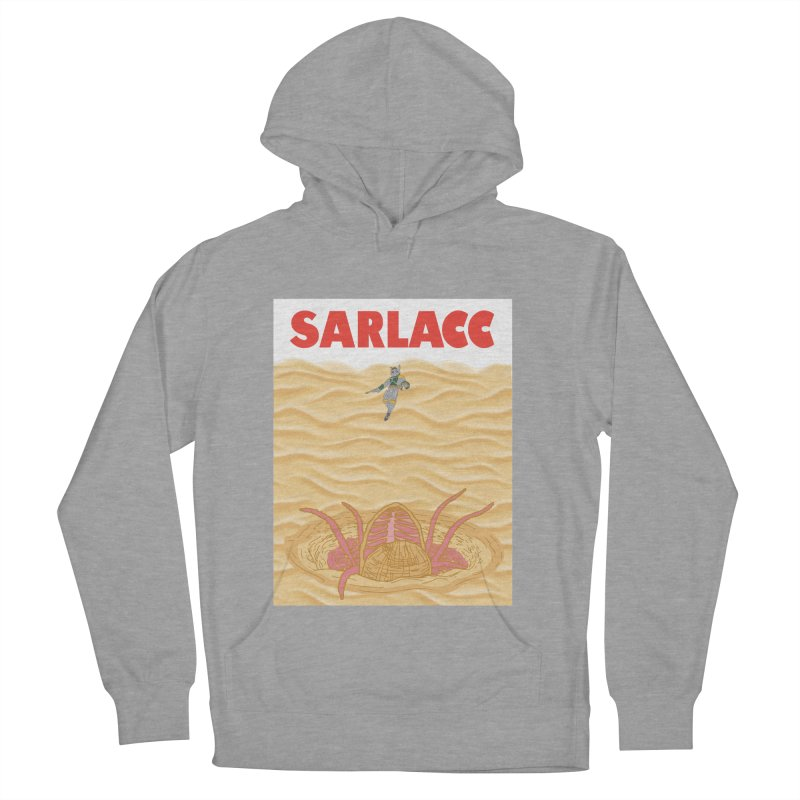 Sarlacc Men's French Terry Pullover Hoody by Daletheskater