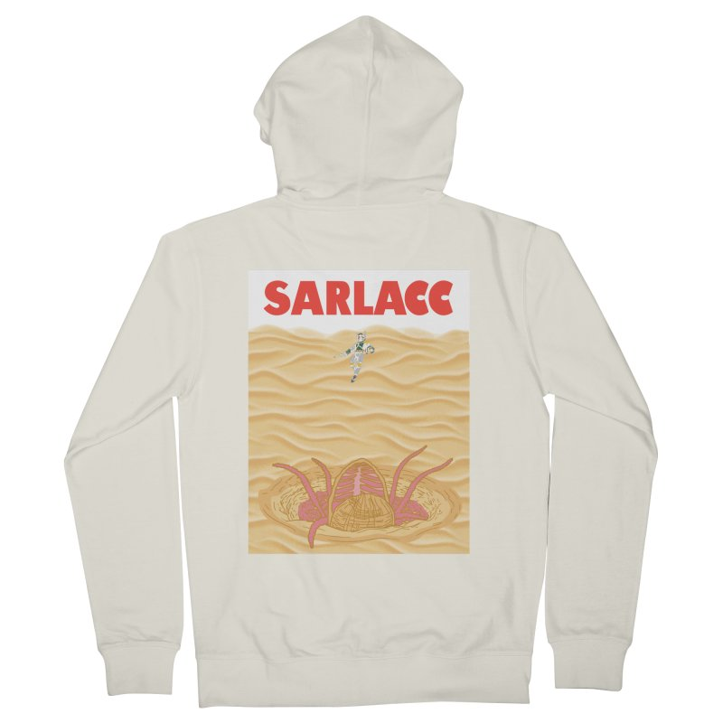 Sarlacc Women's French Terry Zip-Up Hoody by Daletheskater