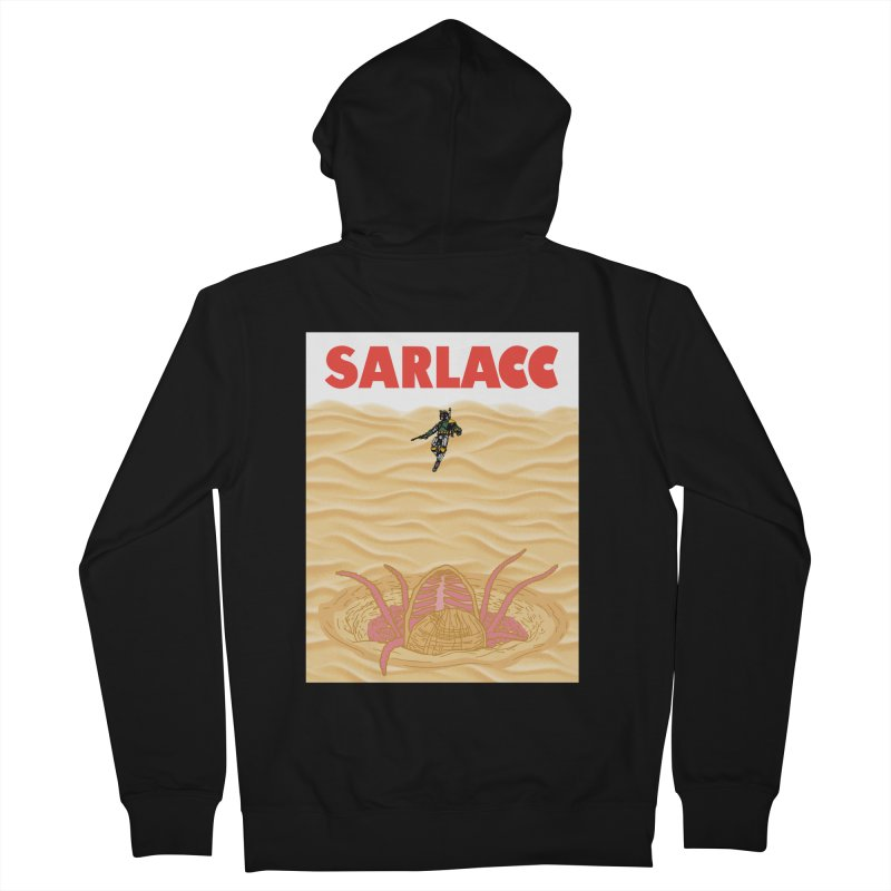 Sarlacc Men's French Terry Zip-Up Hoody by Daletheskater