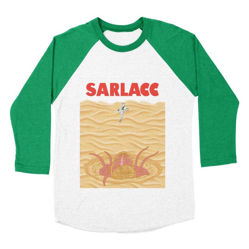 Sarlacc Women's Baseball Triblend Longsleeve T-Shirt by Daletheskater