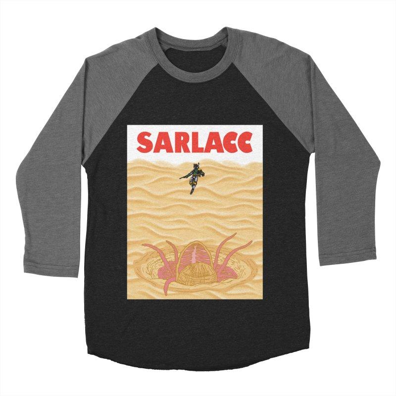 Sarlacc Men's Baseball Triblend Longsleeve T-Shirt by Daletheskater