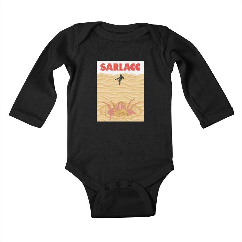 Sarlacc Kids Baby Longsleeve Bodysuit by Daletheskater