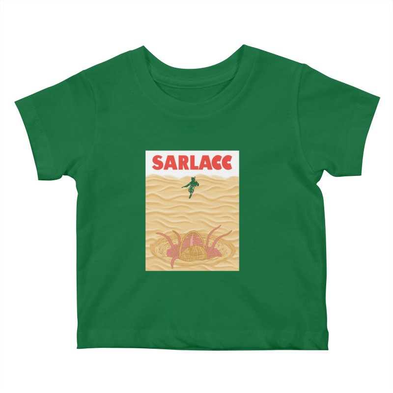 Sarlacc Kids Baby T-Shirt by Daletheskater