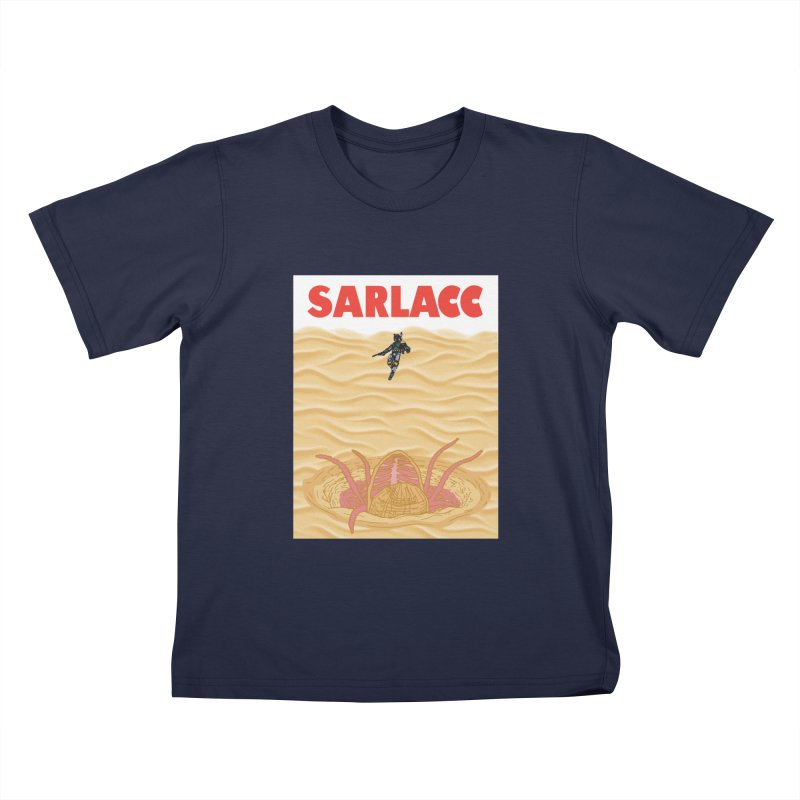 Sarlacc Kids T-Shirt by Daletheskater