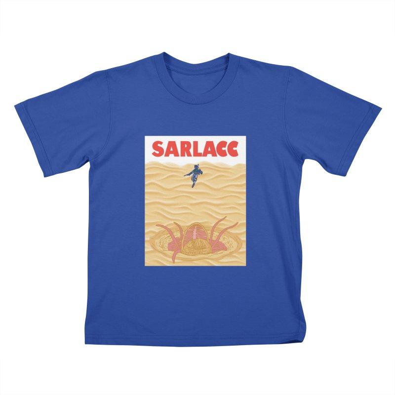 Sarlacc Kids T-Shirt by Daletheskater