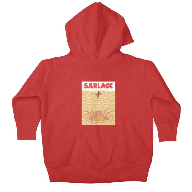 Sarlacc Kids Baby Zip-Up Hoody by Daletheskater
