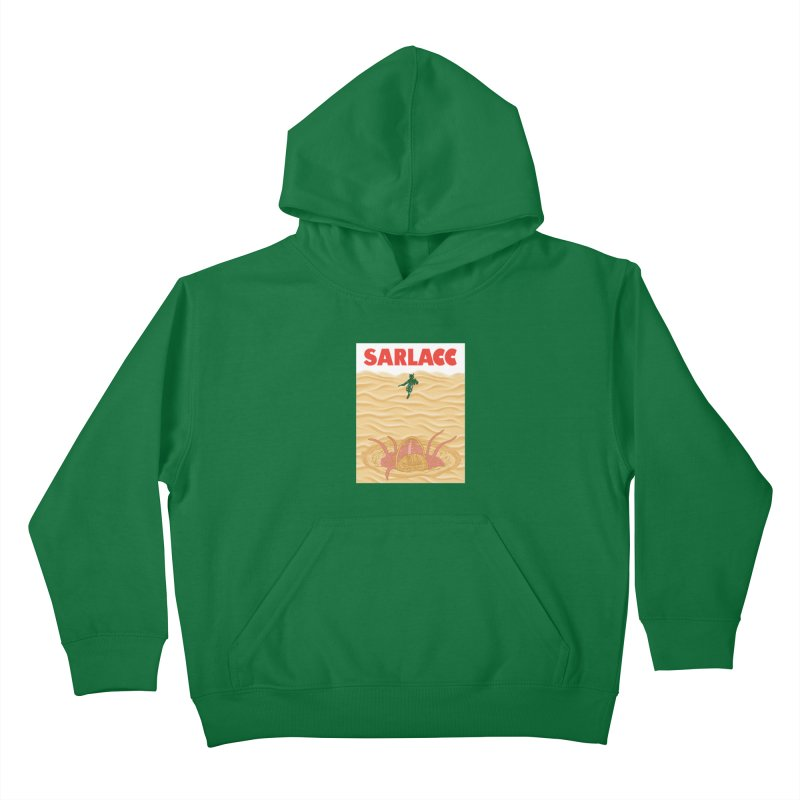 Sarlacc Kids Pullover Hoody by Daletheskater