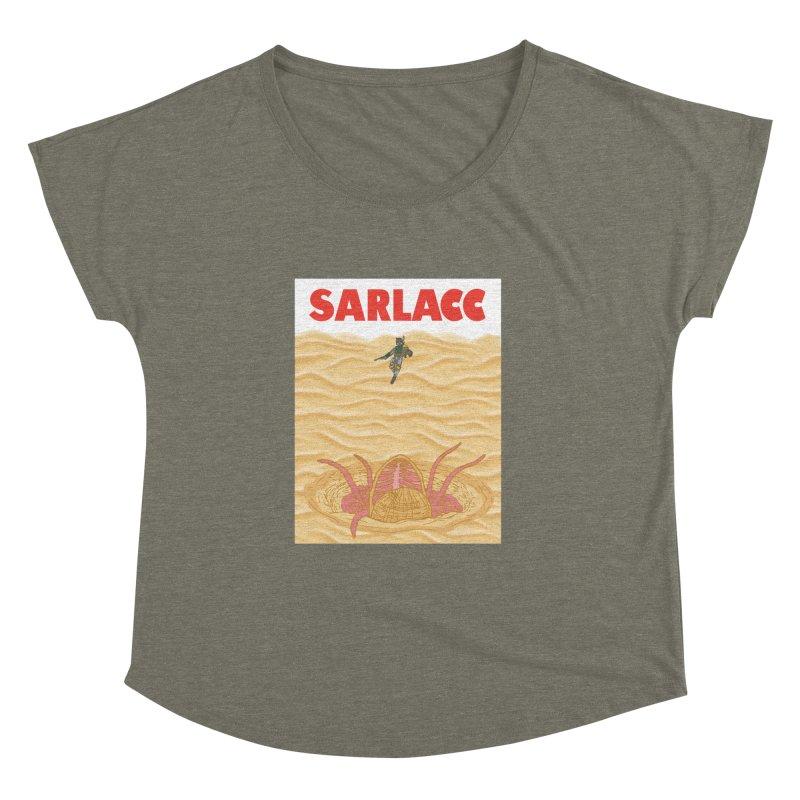 Sarlacc Women's Dolman Scoop Neck by Daletheskater