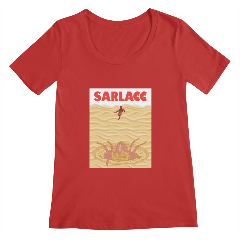 Sarlacc Women's Regular Scoop Neck by Daletheskater