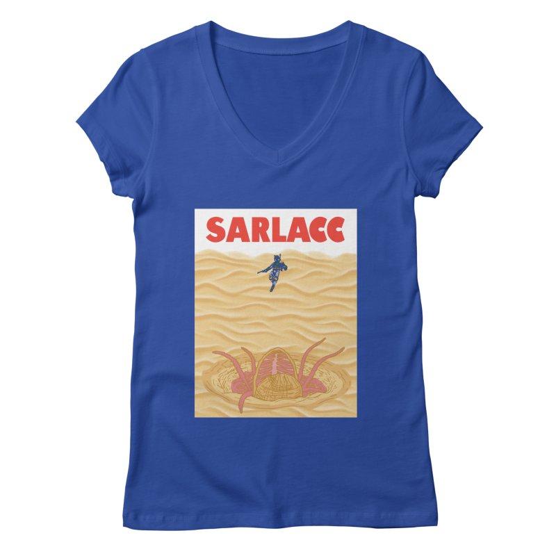 Sarlacc Women's Regular V-Neck by Daletheskater