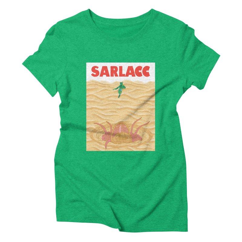 Sarlacc Women's Triblend T-Shirt by Daletheskater
