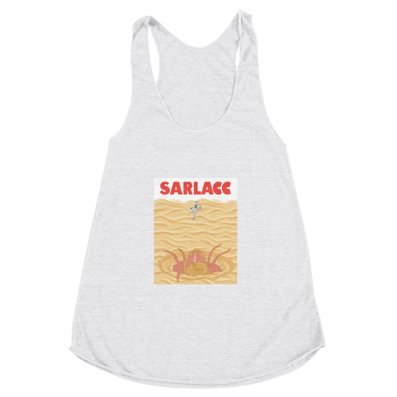 Sarlacc Women's Racerback Triblend Tank by Daletheskater