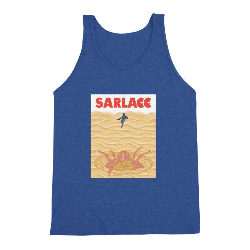 Sarlacc Men's Triblend Tank by Daletheskater