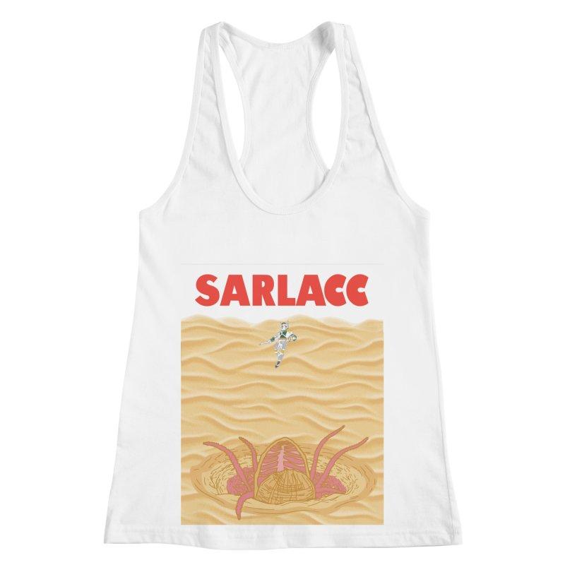Sarlacc Women's Racerback Tank by Daletheskater