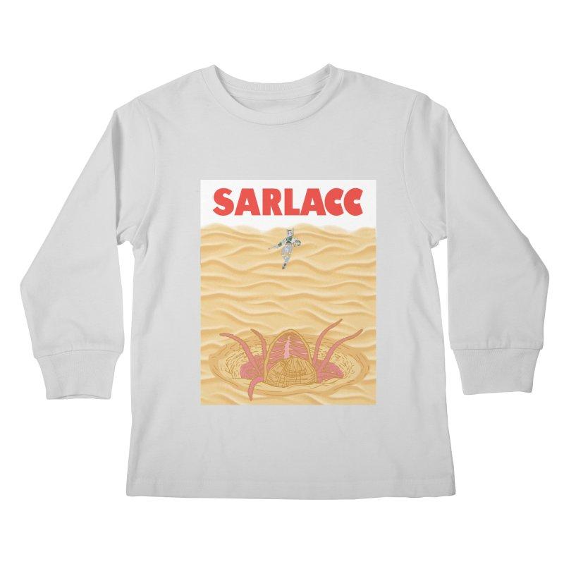 Sarlacc Kids Longsleeve T-Shirt by Daletheskater