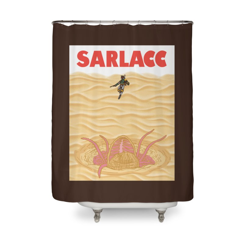 Sarlacc Home Shower Curtain by Daletheskater
