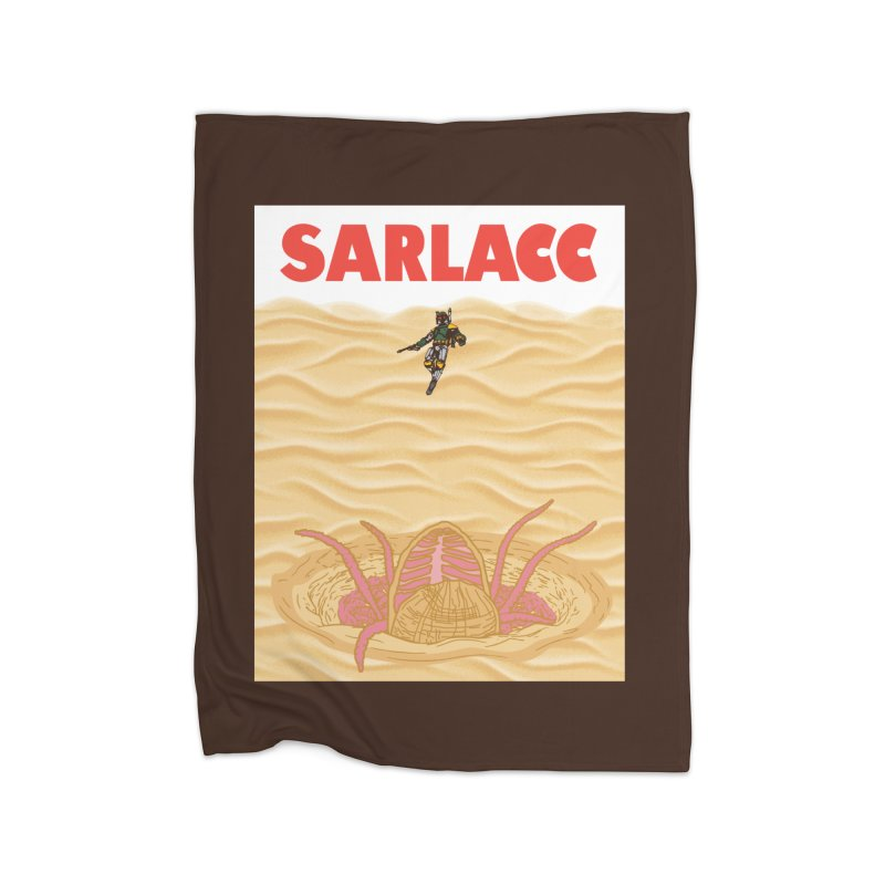 Sarlacc Home Fleece Blanket Blanket by Daletheskater