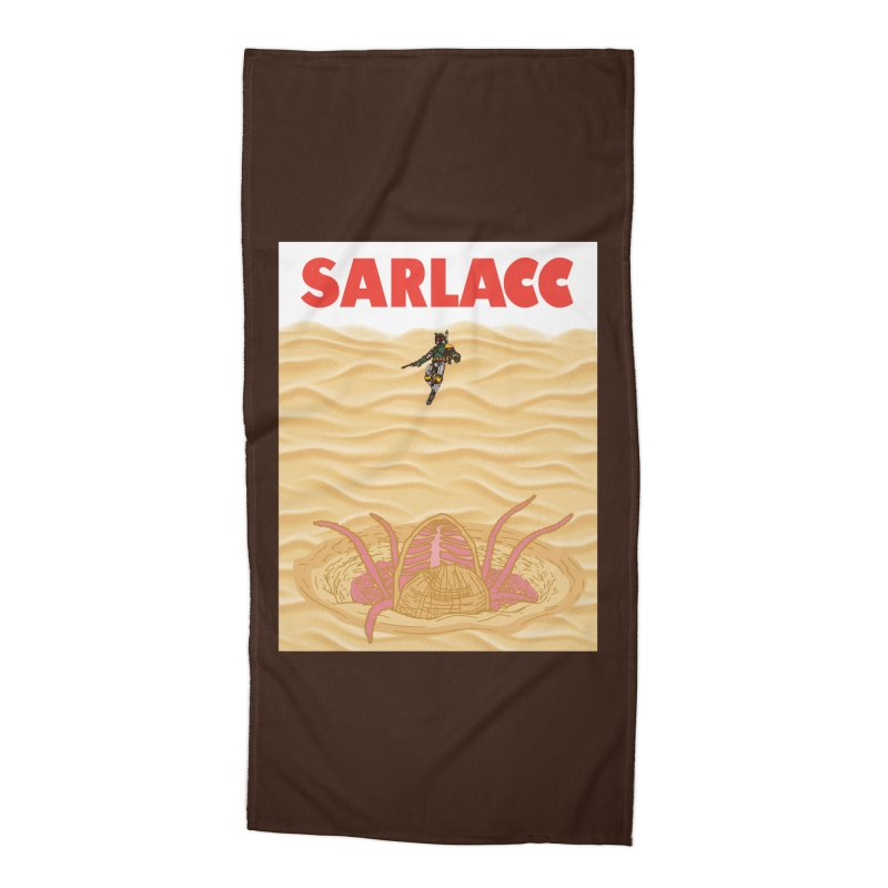 Sarlacc Accessories Beach Towel by Daletheskater