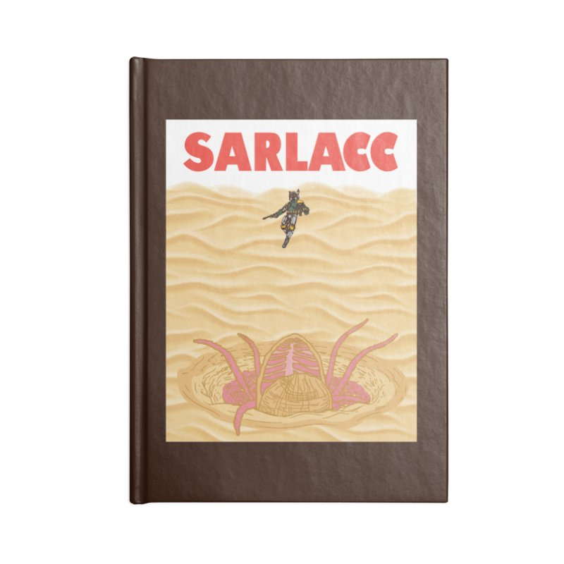 Sarlacc Accessories Blank Journal Notebook by Daletheskater