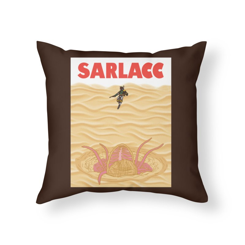 Sarlacc Home Throw Pillow by Daletheskater