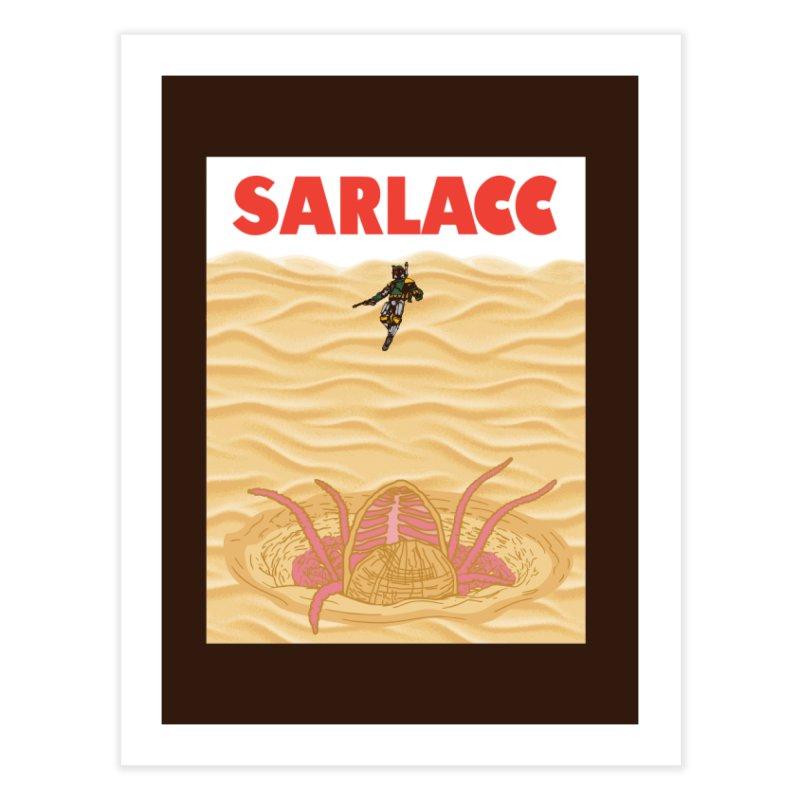Sarlacc Home Fine Art Print by Daletheskater