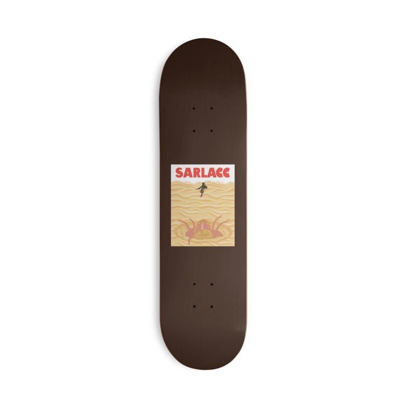 Sarlacc Accessories Deck Only Skateboard by Daletheskater