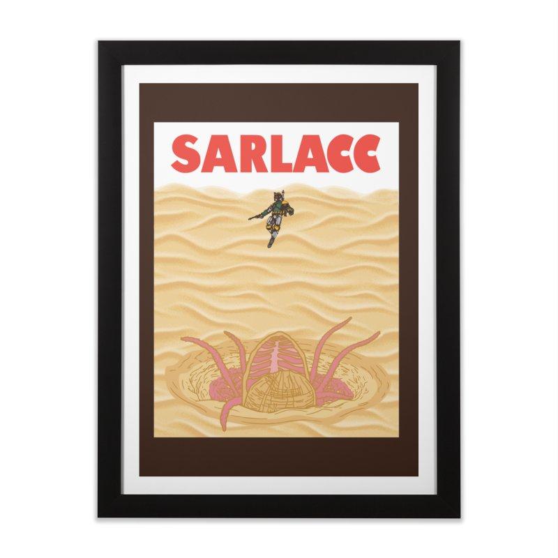 Sarlacc Home Framed Fine Art Print by Daletheskater
