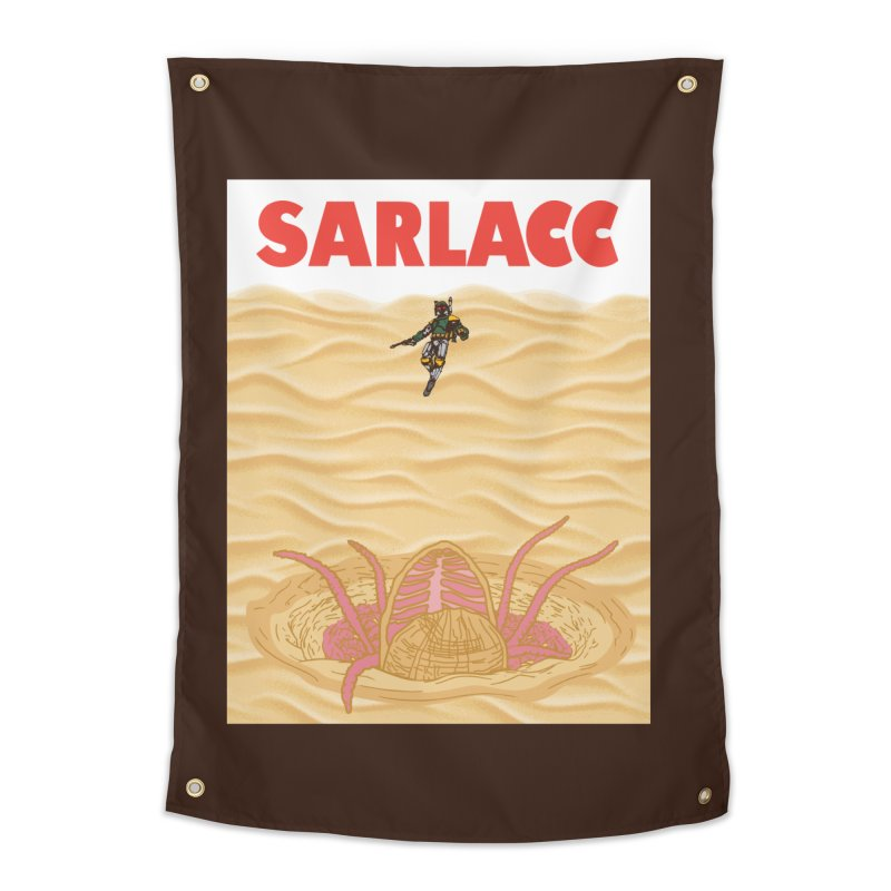 Sarlacc Home Tapestry by Daletheskater