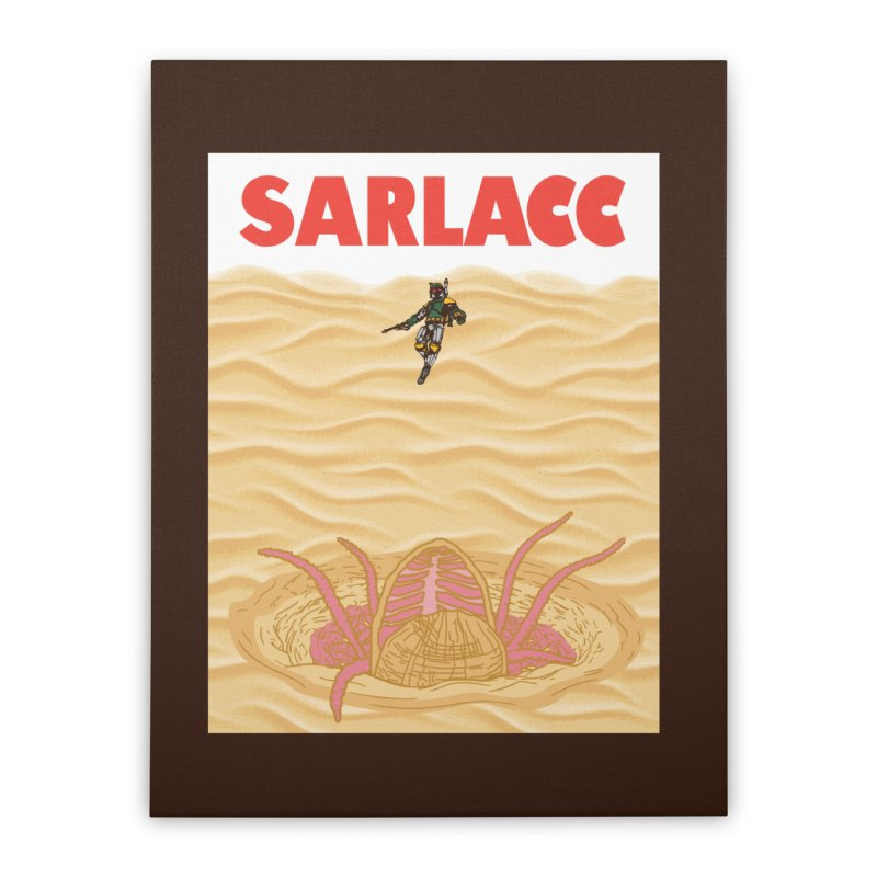 Sarlacc Home Stretched Canvas by Daletheskater