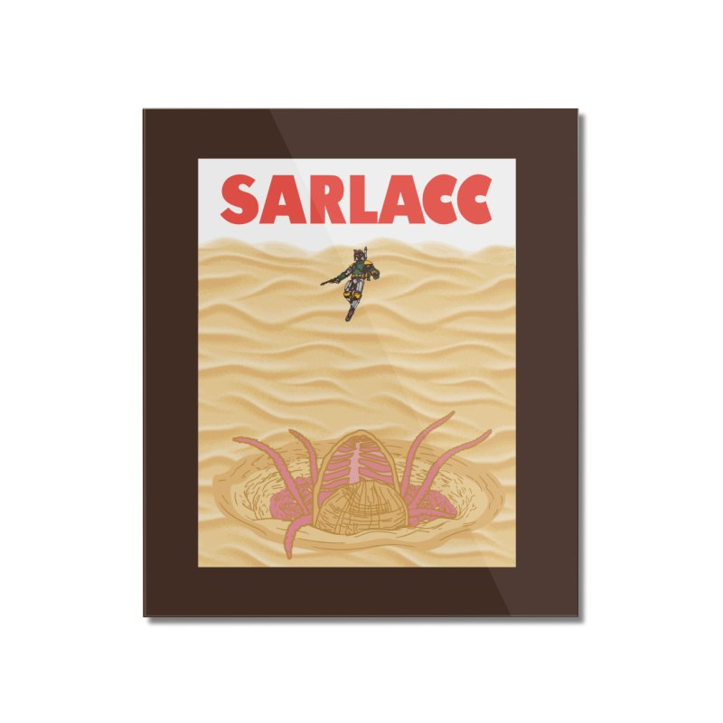 Sarlacc Home Mounted Acrylic Print by Daletheskater