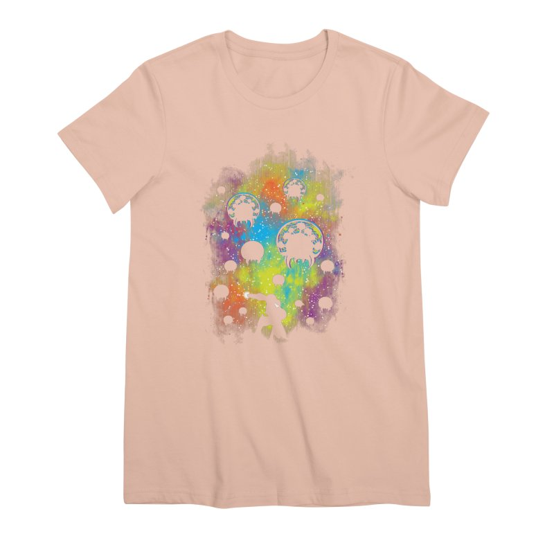 Galactic Warrior Women's Premium T-Shirt by Daletheskater