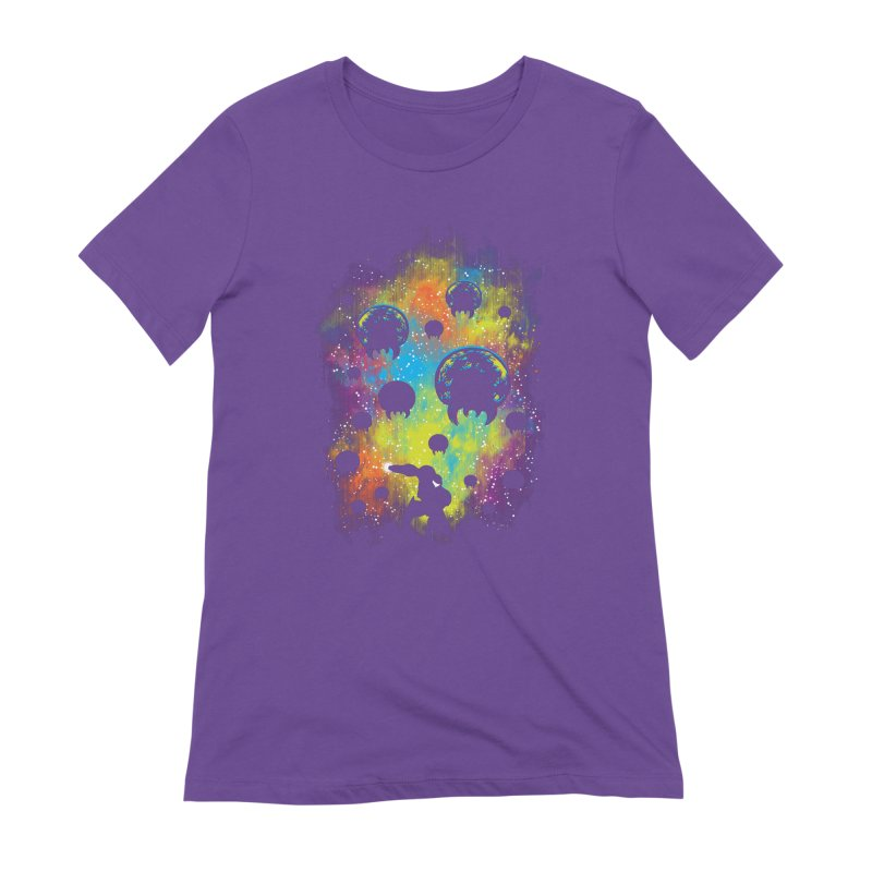 Galactic Warrior Women's Extra Soft T-Shirt by Daletheskater