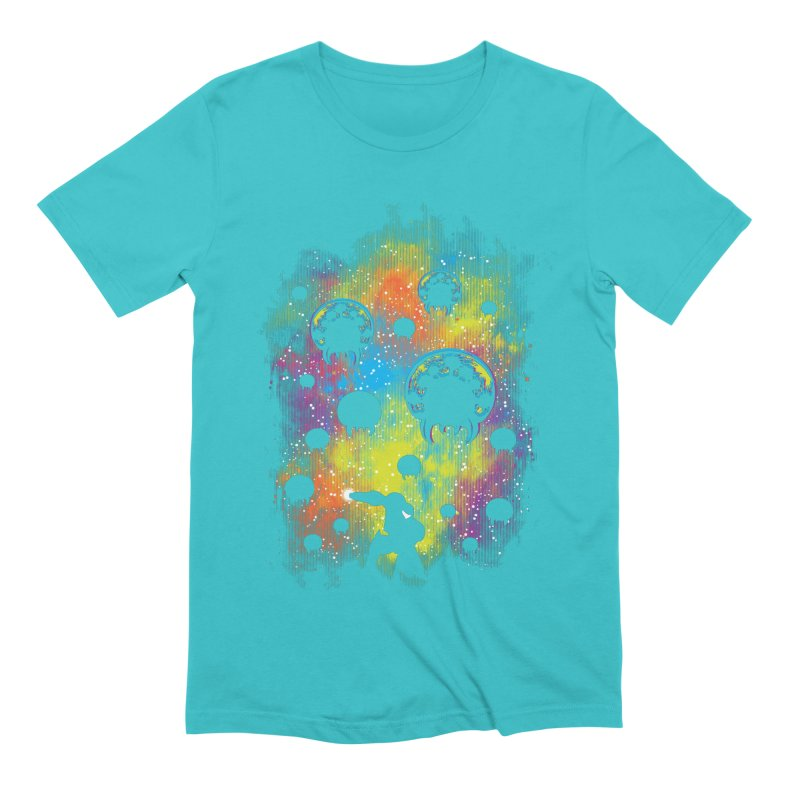 Galactic Warrior Men's Extra Soft T-Shirt by Daletheskater