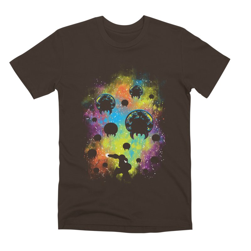 Galactic Warrior Men's Premium T-Shirt by Daletheskater