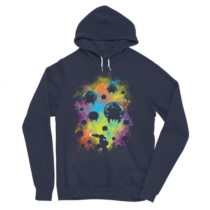 Galactic Warrior Women's Sponge Fleece Pullover Hoody by Daletheskater